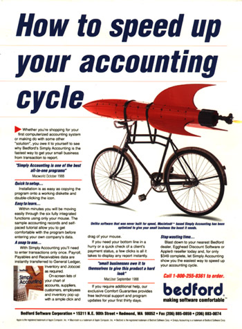 Simply Accounting Print Ad